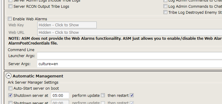 Ark Server Manager Setup